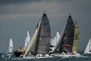 Zingara at the start at Key West 2014 Melges 24 Races