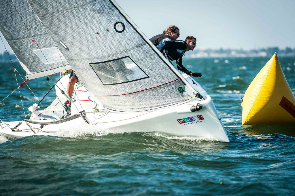 Team CAN-629 Zingara at Helly Hansen St. Petersburg NOOD Regatta